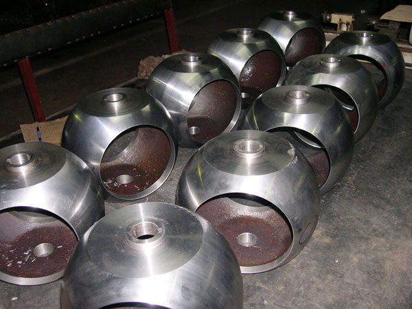 شیر توپی فولادی