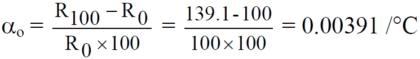چگونه ضریب دما RTD را محاسبه کنیم