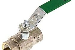 Use ball valves for water