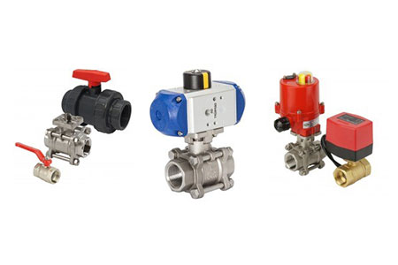 Flow control with ball valve