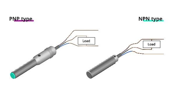 NPN and PNP induction sensor